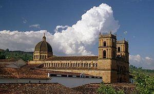 Barichara - Cathedral of Barichara