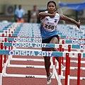 Barman 100m Hurdles Heptathlon Odisha 2017 (cropped).jpg