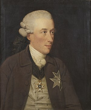 John Downman - Swedish Baron Gustaf Adam von Nolcken, Swedish Ambassador to the United Kingdom (1780)