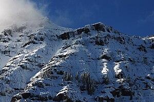 Barronette Peak - Image: Barronette Peak 2010YNP