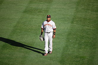 Barry Bonds - Bonds on the field