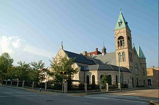 Basilica of the Co-Cathedral of the Sacred Heart Church in West Virginia, United States