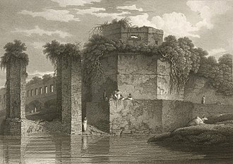 Charles D'Oyly - Image: Bastion of the Lal Bagh, Dacca (Charles D'Oyly)