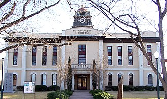 Bastrop County, Texas - Image: Bastrop courthouse