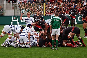 Bath Rugby - Byron Kelleher and Michael Claassens.