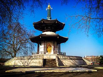 Battersea Park - Image: Battersea Park Peace Pagoda
