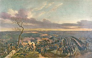 Campaign in north-east France (1814) - The battle of Montmirail, by Marin-Lavigne.