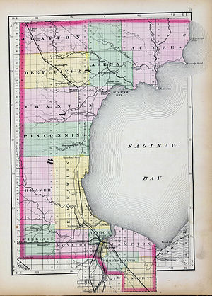 Bay County, Michigan - Image: Bay County