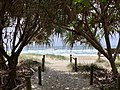 Beach access pin Casuarina, New South Wales 01.jpg