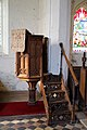 Beauchamp Roding - St Botolph's Church - Essex England - 19th-century pulpit.jpg