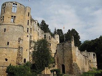 Beaufort, Luxembourg - Beaufort castle