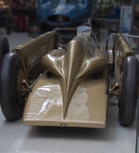 Beaulieu National Motor Museum Golden Arrow 15-10-2011 13-03-30.png