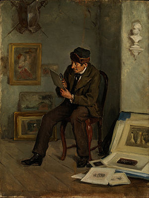 Adolf von Becker - The Art Expert (1880s)