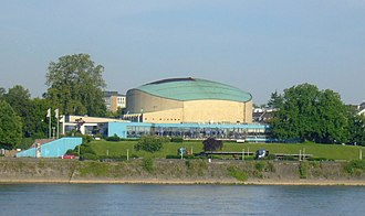 Beethovenhalle - Beethovenhalle (2005) on the shores of the Rhine