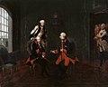Begegnung zwischen Friedrich der Große und Kaiser Joseph II. in Neiße - Google Art Project.jpg