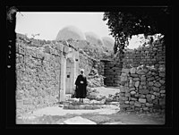 Beit Ed-Din. The Shehab Palace (held as a national monument). Lebanon. A Druse (i.e., Druze) shrine. Tomb of Abdullah al Druse LOC matpc.15460.jpg