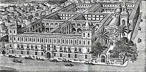 Instituto Técnico Militar - Image: Belen School 1854 1925