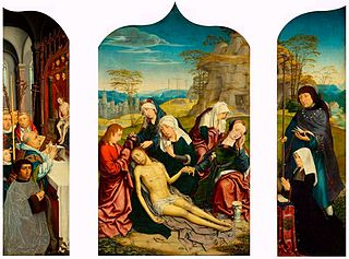 Triptych of the Lamentation of Christ