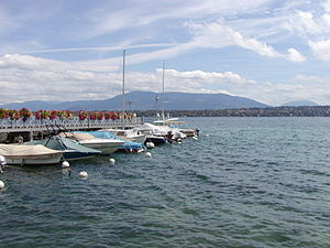 Bellevue, Switzerland - Image: Bellevue Dock