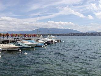 Bellevue, Switzerland - Image: Bellevue Dock