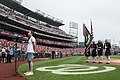 Ben Platt sings national anthem at Nationals Park in Washington, July 4, 2015.jpg