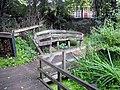Bench in Vauxhall Community Gardens - geograph.org.uk - 2560093.jpg