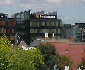 Bendigo and Adelaide Bank - Bendigo Bank head office in Bendigo, Victoria, Australia