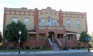 National Register of Historic Places listings in Montrose County, Colorado - Image: Benevolent and Protective Order of Elks Lodge (Montrose, Colorado)