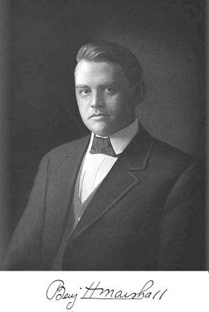 Marshall and Fox - Benjamin Marshall ca. 1919