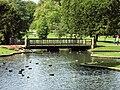 Benkid77 Pavilion Gardens lake 3 080809.JPG