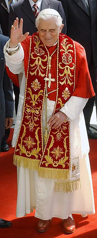 Resignation of Pope Benedict XVI - Pope Benedict XVI in 2007
