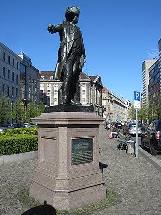 James Francis Edward Keith - Memorial to Keith in Berlin