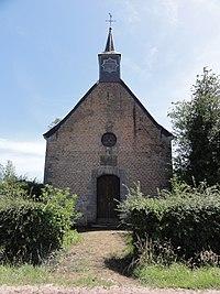 Bermeries (Nord, Fr) chapelle N.D. de Lourdes.JPG