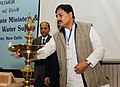 Bharatsinh Madhavsinh Solanki lighting the lamp to inaugurate the National Consultations with State Ministers in charge of Rural Drinking Water Supply, in New Delhi on February 19, 2013.jpg