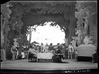 Bianca Capello, Dramatiska teatern 1901. Föreställningsbild