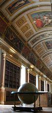 Biblioteca del Palacio de Fontainebleau.