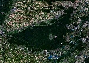Bienwald - The Bienwald as seen from space.