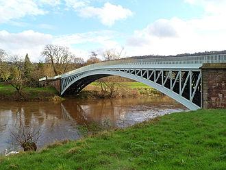 A466 road - Image: Bigsweir Bridge