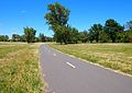 Bike path in Curtin near the Woden Town Centre Nov 2012.JPG