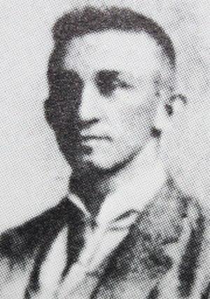 Bill Whitrock - Image: Bill Whitrock 1891 Cedar Rapids Canaries