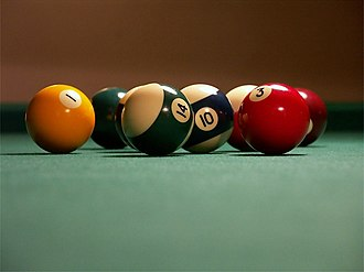 Billiard ball - Modern-style pool balls