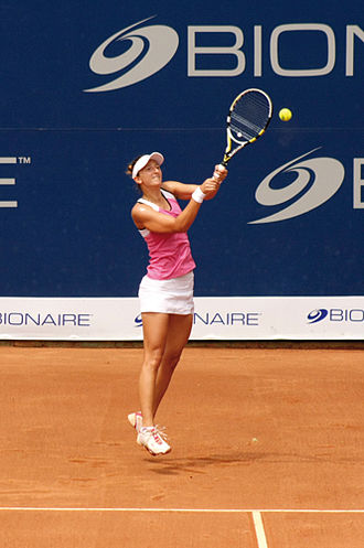 Copa Bionaire - Romanian Irina-Camelia Begu lifted both singles and doubles champions' trophies in 2011