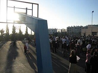 Birkat Hachama - Birkat Hachama in 2009 Ma'ale Adumim