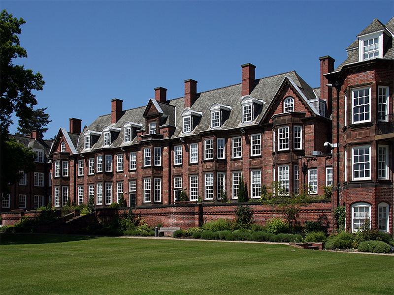 The New Business School Building Uni Of Birmingham