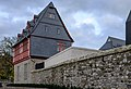 Bischofssitz Limburg - residence of the bishop of Limburg - Aussenmauer- Büro-Empfangs-Konferenz-Bereich - Alte Vikarie - Haus Staffel - October 26th 2013 - 02.jpg