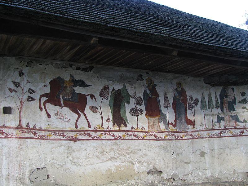 Fișier:Biserica de lemn Nasterea Domnului din satul Glambocata Deal comuna Leordeni judetul Arges Romania 20.jpg