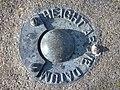 Bishopston's Fundamental Benchmark's detail - geograph.org.uk - 1384358.jpg