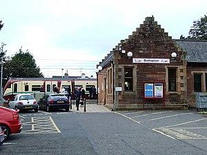 Bishopton, Renfrewshire - Bishopton railway station