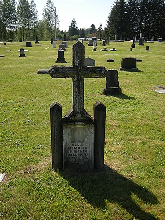 Black Diamond, Washington - Image: Black Diamond Cemetery 04