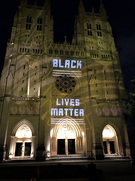 File:Black Lives Matter, Washington National Cathedral, 10June2020.jpg